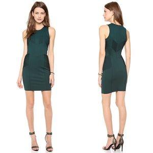 Parker Cece Pleated Bodycon Dress